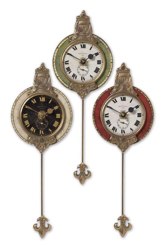Three-Piece Pendulum Wall Clock