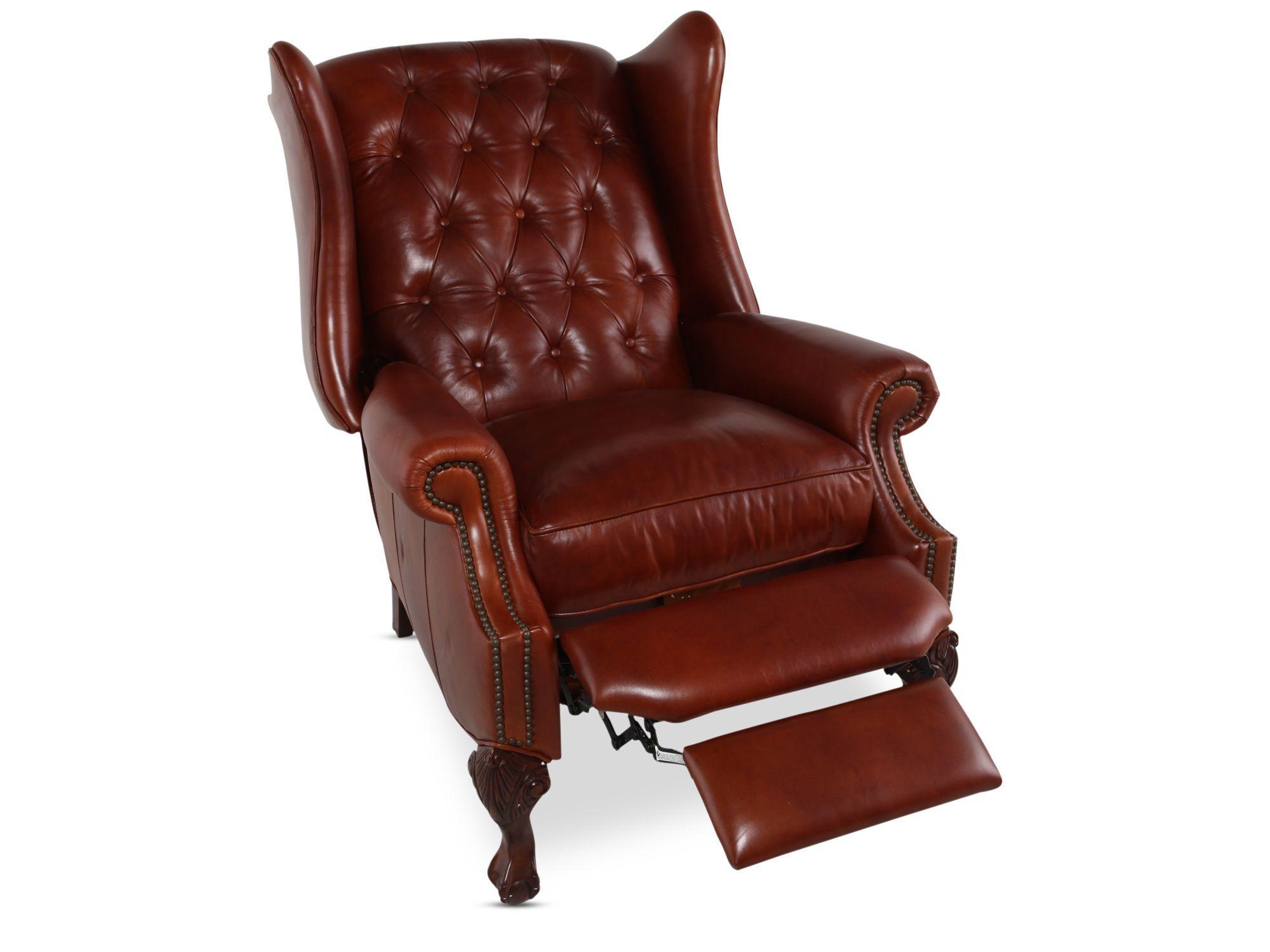 Henredon Leather Recliner  sc 1 st  Mathis Brothers & Henredon Leather Recliner | Mathis Brothers Furniture islam-shia.org