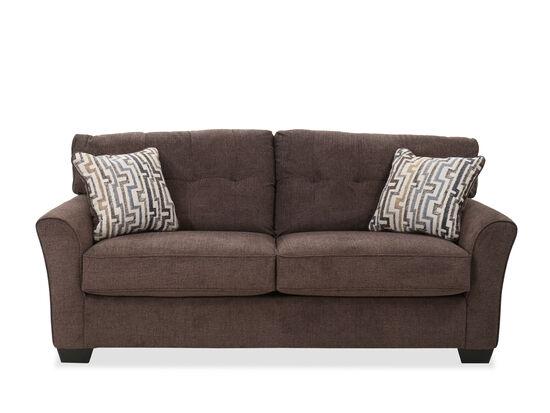 Tufted Contemporary 79'' Sofa in Granite
