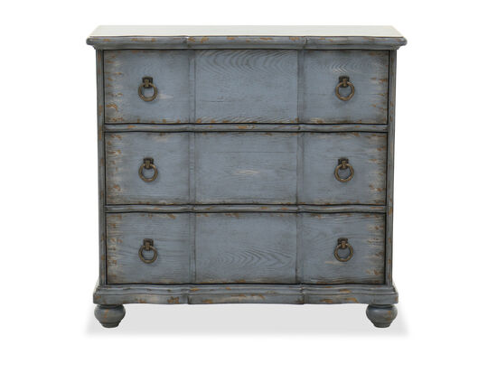 Rustic Accent Chest in Blue