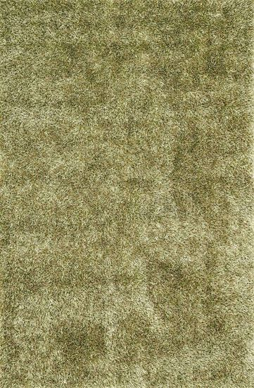 "Shags 3'-6""x5'-6"" Rug in Green"