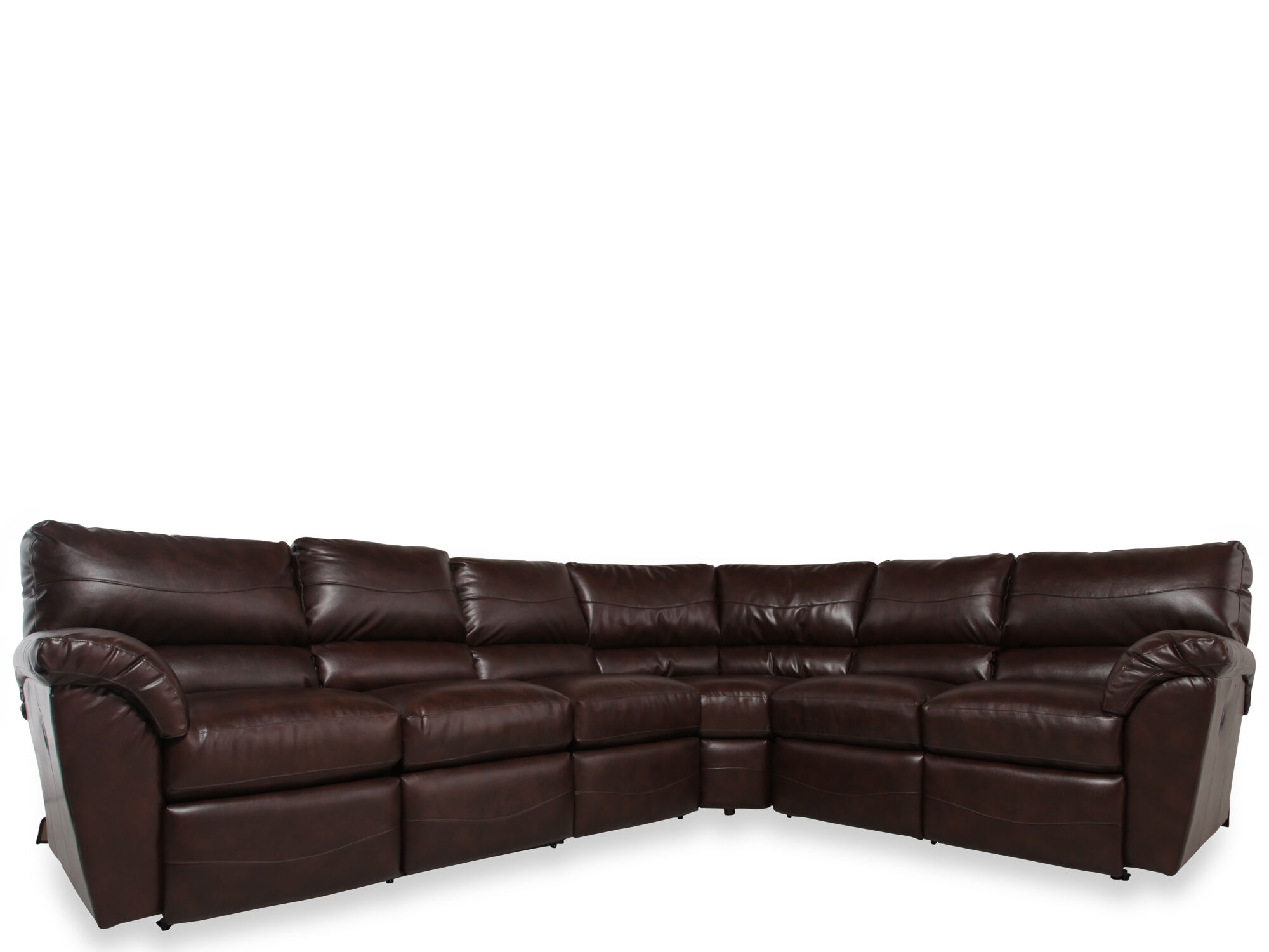 La-Z-Boy Reese Three-Piece Dual Recliner Sectional  sc 1 st  Mathis Brothers : reese sectional lazy boy - Sectionals, Sofas & Couches