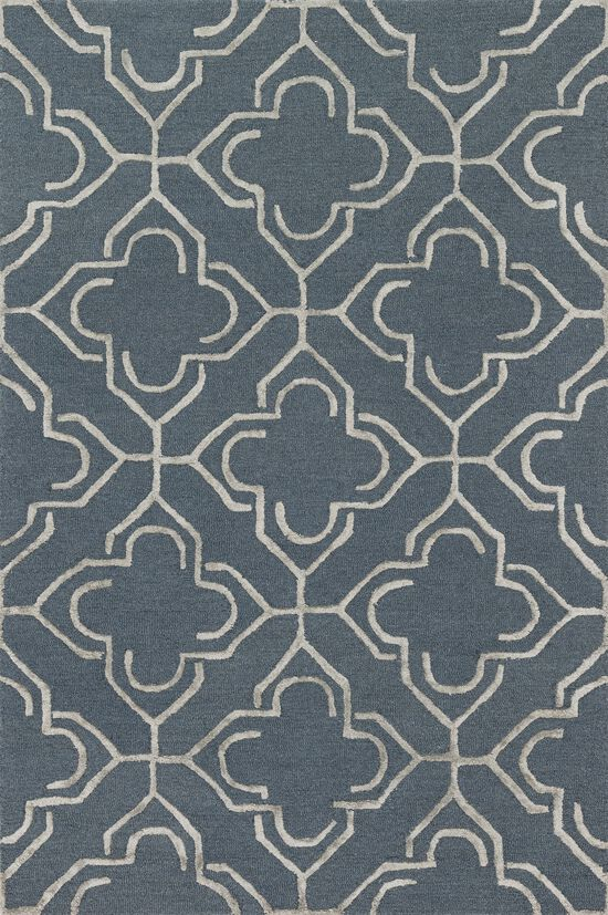 """Transitional 2'-3""""x3'-9"""" Rug in Slate/Taupe"""