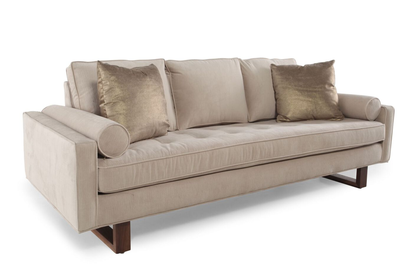 Jonathan Sofa Jonathan Louis Pia Condo Sofa Mathis Brothers Furniture - TheSofa