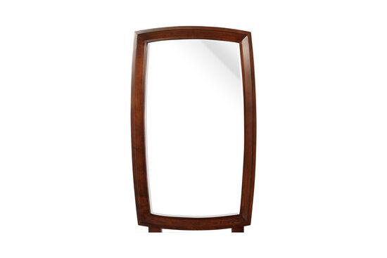 "36"" Contemporary Vertical Mirrorin Warm Cognac"