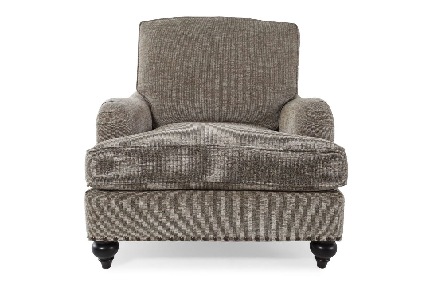 Textured cottage 38 chair in sandstone mathis brothers for Where to buy bernhardt furniture online