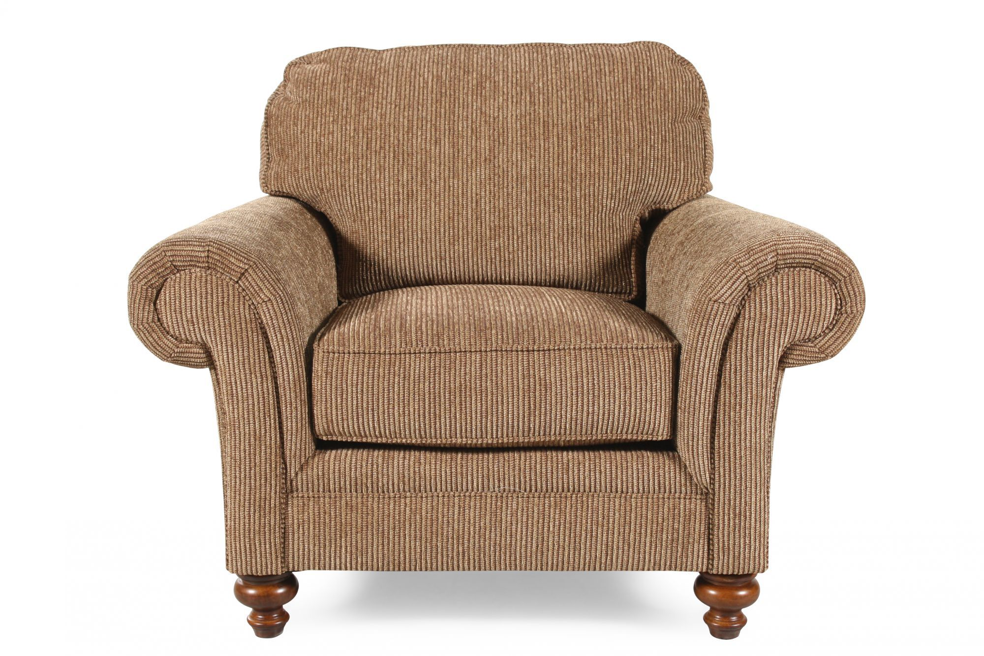 Textured Traditional 44u0026quot; Chair in ...  sc 1 st  Mathis Brothers & Living Room Chairs - Swivel Chairs | Mathis Brothers