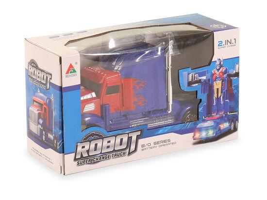 Robot Super Change Truck