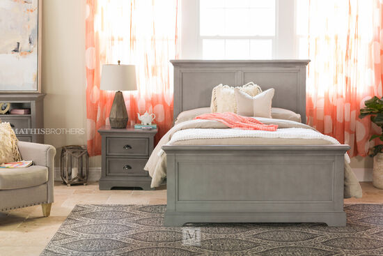 Winners Only Tamarack Gray Twin Panel Bed