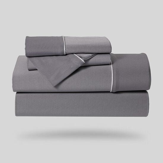 Five-Piece Dri-Tec Lite Queen Sheet Set in Grey