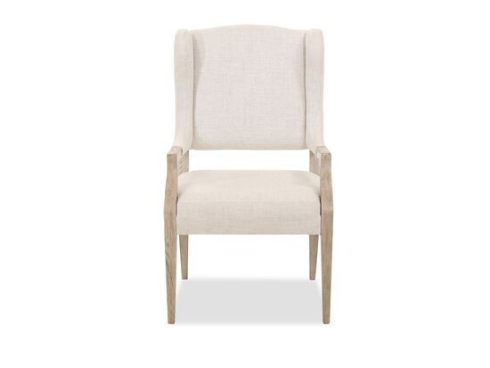 "Traditional 43"" Dining Chair in Beige"