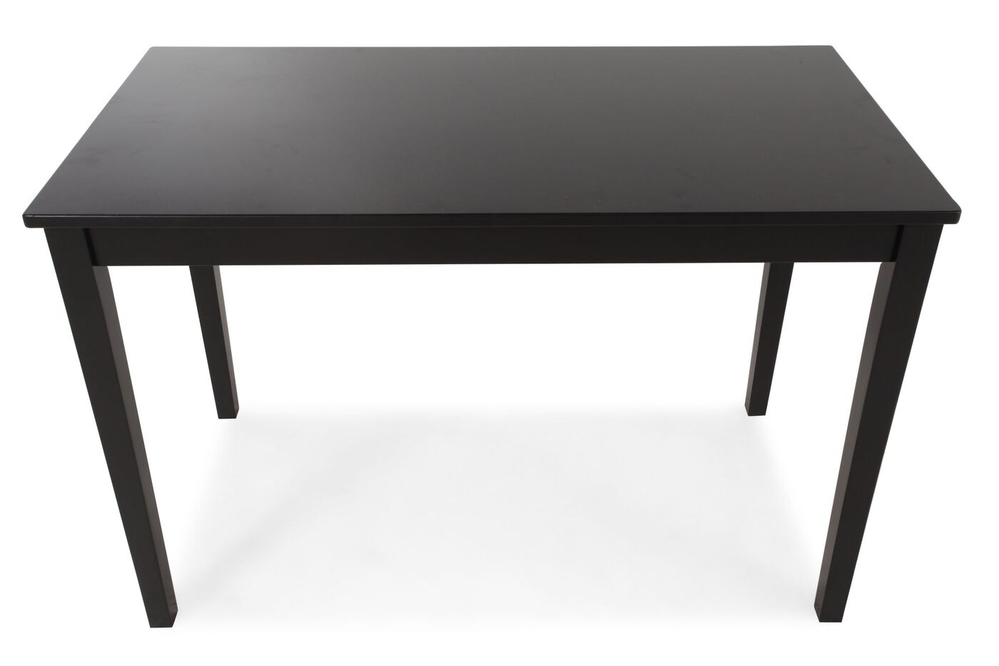 Contemporary rectangular dining table mathis brothers for Contemporary rectangular dining table