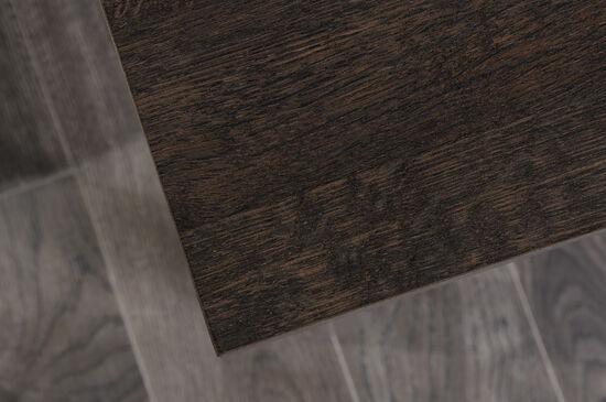 "47.5"" Contemporary Two-Drawer Desk in Coffee Oak"