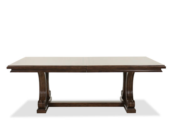 Traditional Trestle Dining Table in Oak
