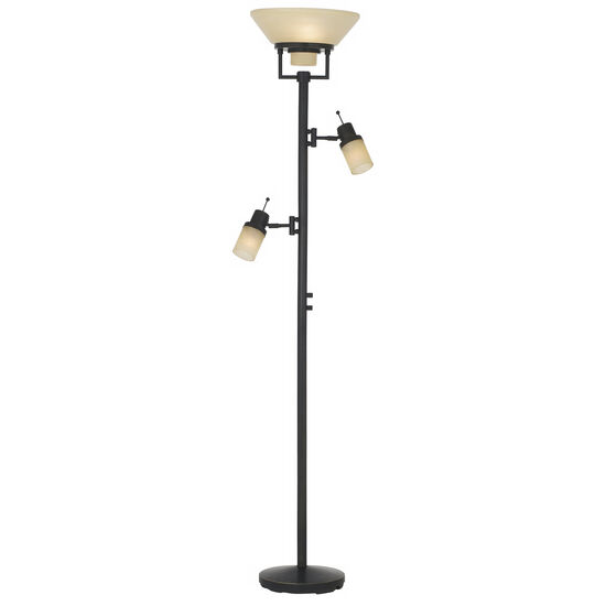 Techno Chic Torchiere Floor Lamp