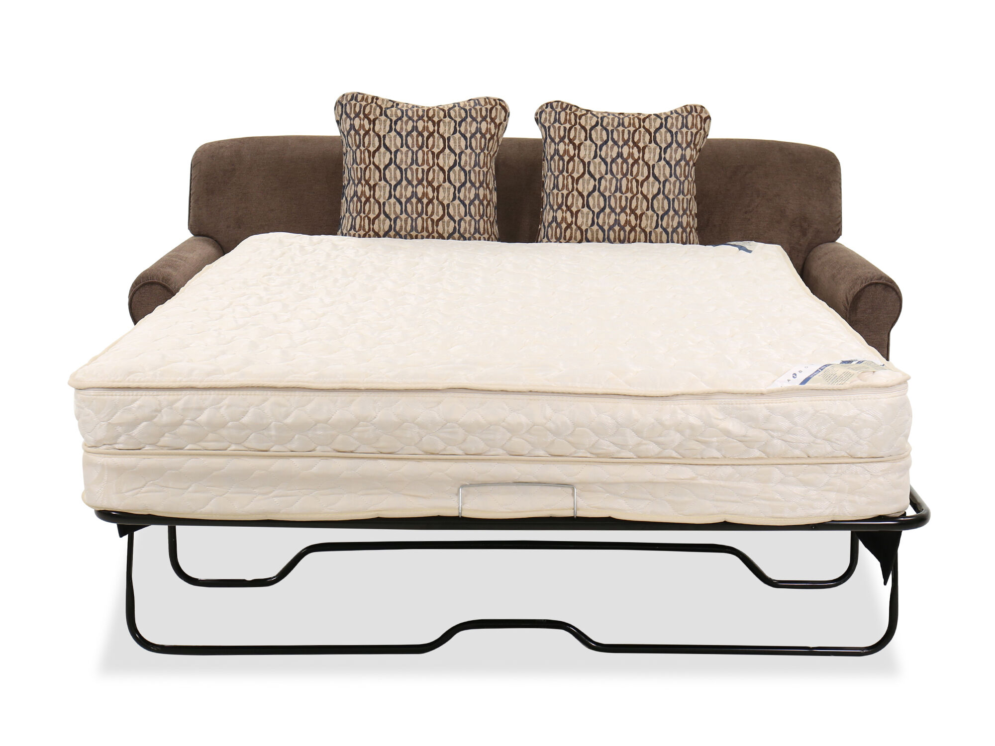 Casual 79 Quot Queen Sleeper Sofa In Java Mathis Brothers