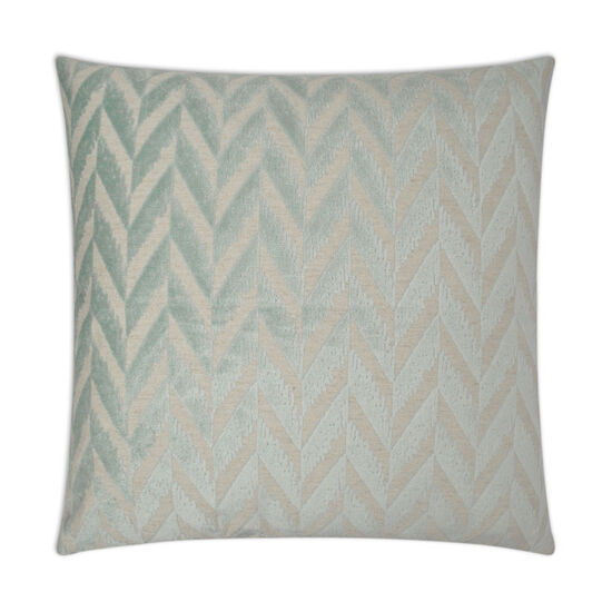 Charming Pillow in Seafoam Green