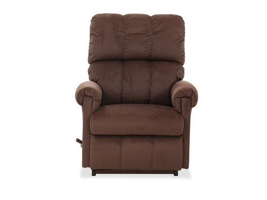 "Casual 32"" Rocker Recliner in Brown"