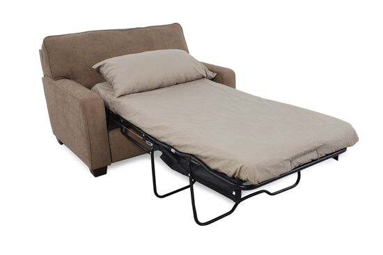 "I-Rest Casual 54"" Sleeper Chair in Brown"
