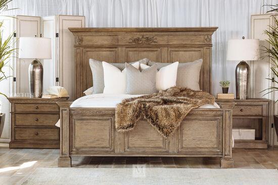 Aspen Belle Maison Aged Oak Queen Panel Bedroom Suite