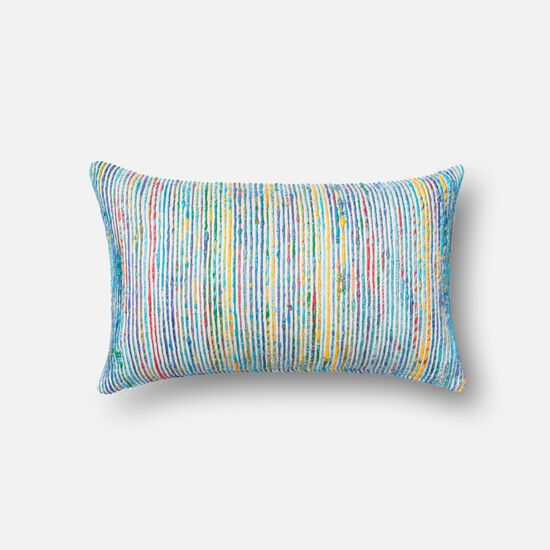 "13""x21"" Pillow Cover Only in Blue/Multi"