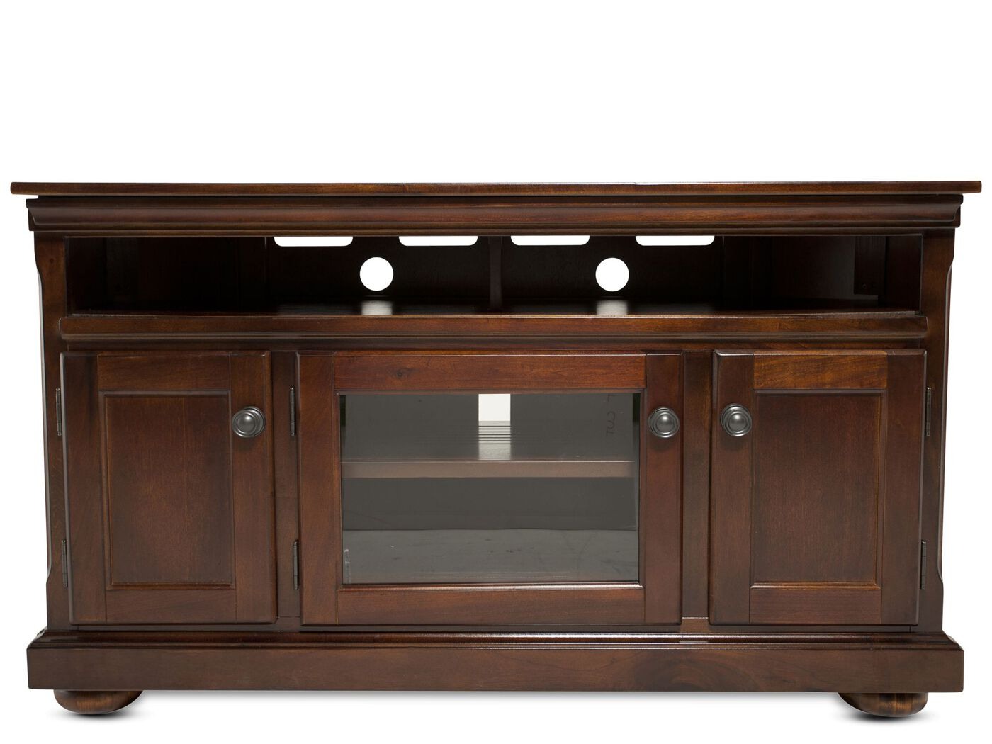 30 Quot Three Door Casual Entertainment Console In Burnished