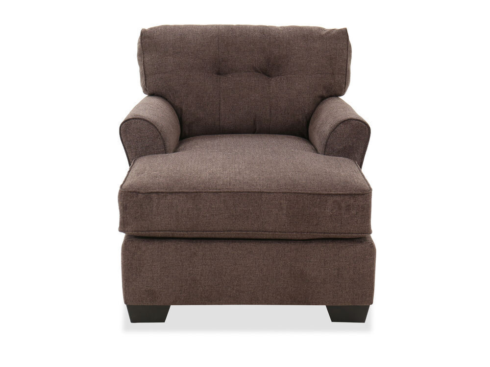 "Casual 39"" Chaise in Granite"