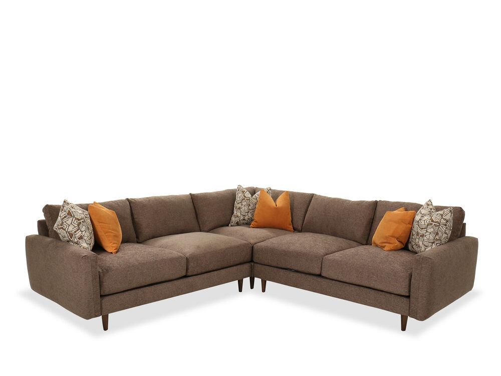 Three Piece Contemporary Sectional In, Jonathan Lewis Furniture