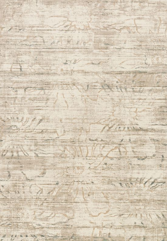 """Transitional 6'-7""""x9'-2"""" Rug in Neutral"""