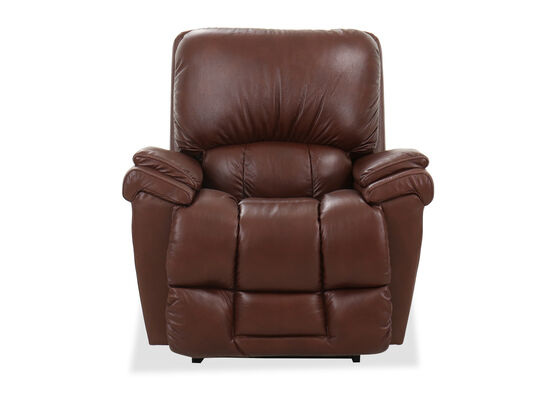 "Modern 39.5"" Power Recliner in Brown"