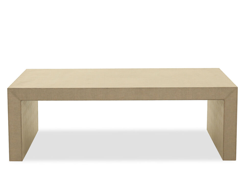 Rectangular Casual Cocktail Table In Brown Mathis Brothers Furniture