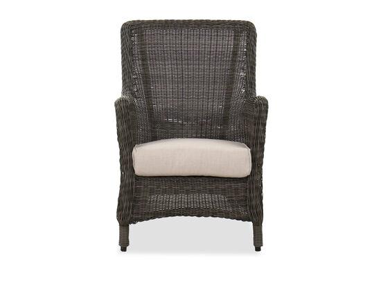 Contemporary Patio Rocker Chair in Dark Gray