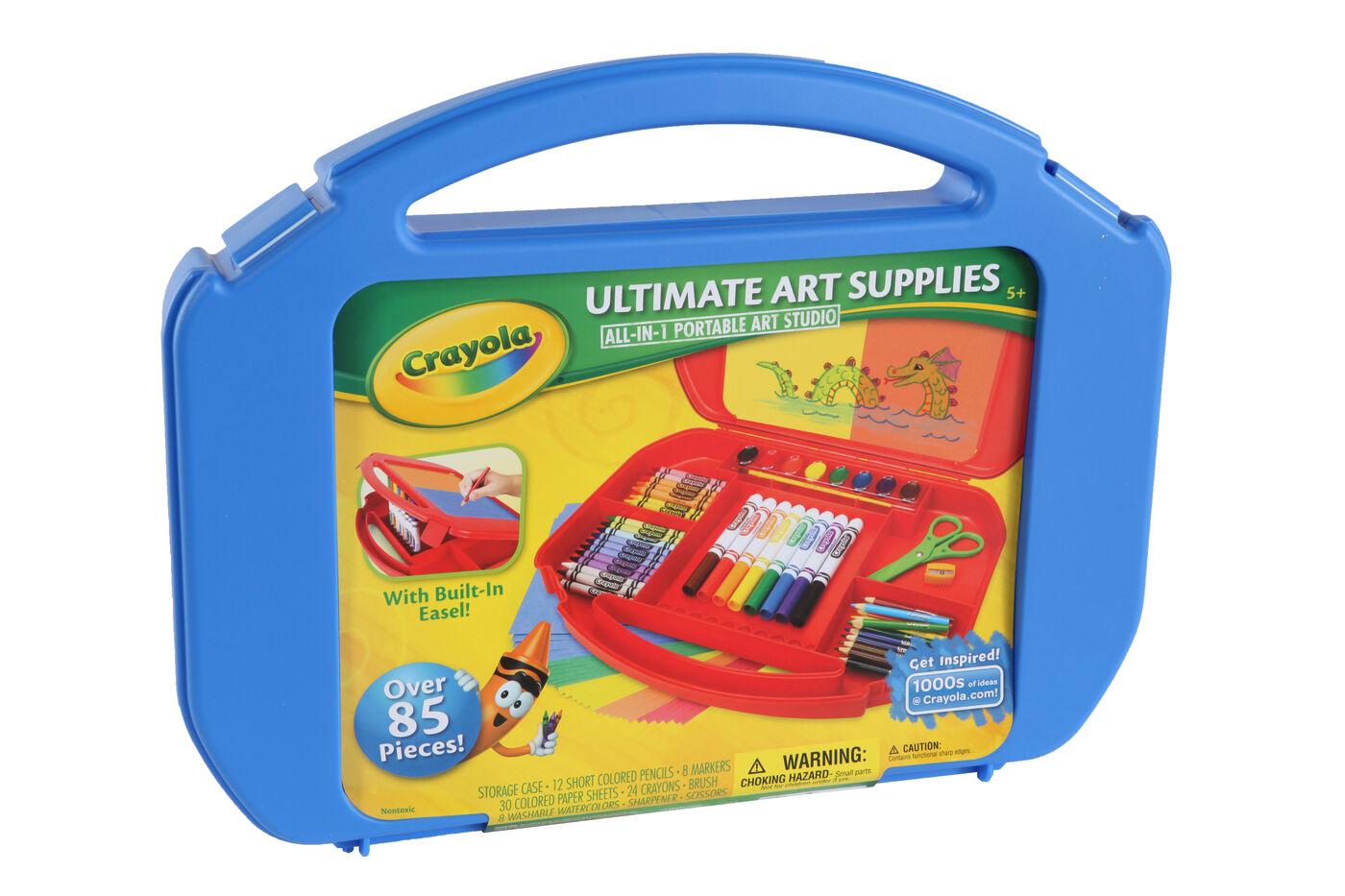 85 Piece Ultimate Art Supplies Set