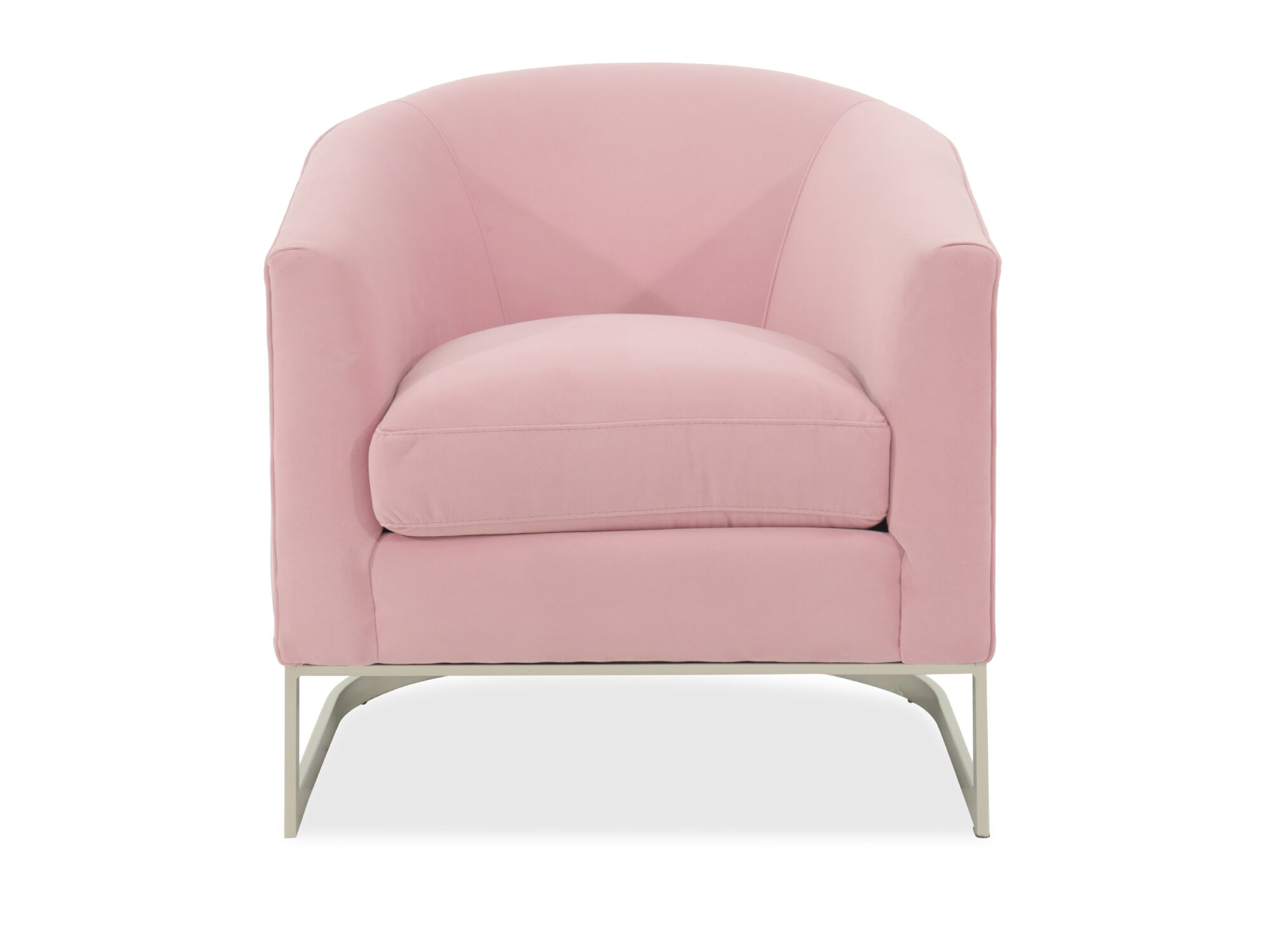 Images Mid Century Modern 31u0026quot; Accent Chair In Pink Mid Century Modern  31u0026quot; Accent Chair In Pink