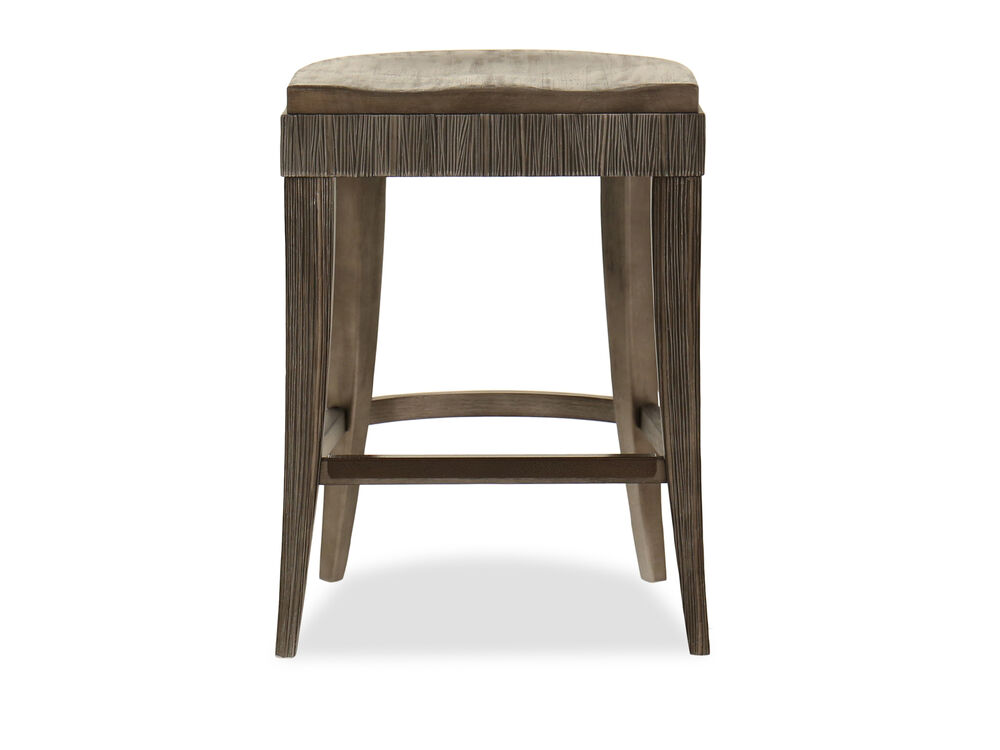 Casual 25 Bar Stool In Brown Mathis Brothers Furniture