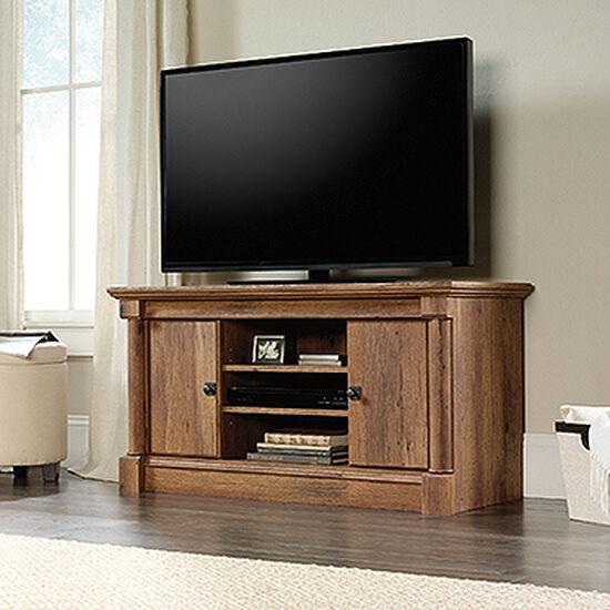Adjustable Shelf Casual Panel TV Standin Vintage Oak