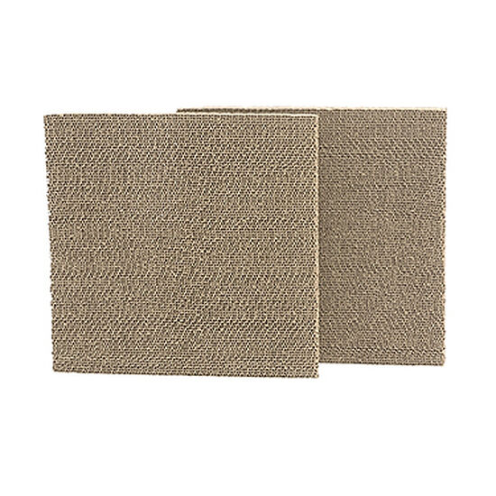 Two-Piece Casual Pet Cube Replacement Scratchers in Brown