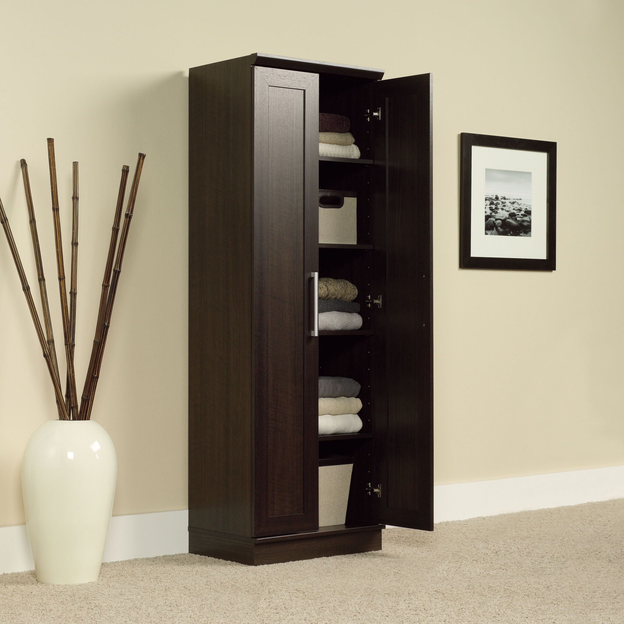 Futuristic Two Door Storage Cabinet Property