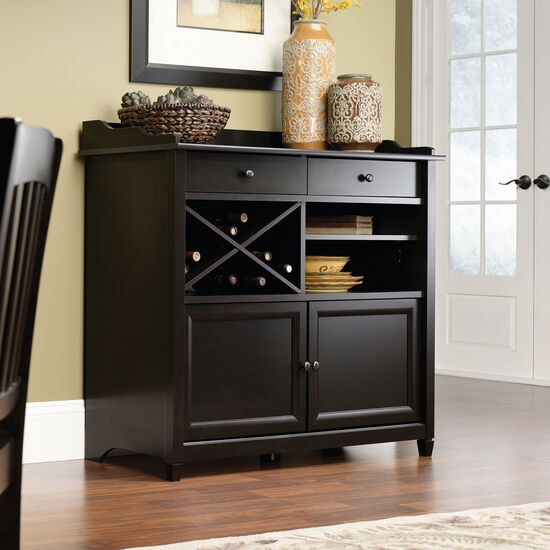 X-Rack Contemporary Sideboard in Estate Black