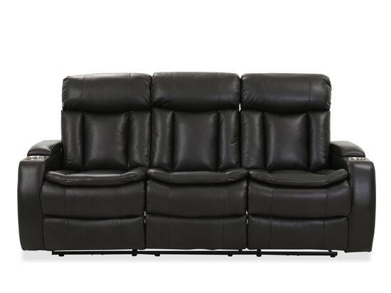 Casual Power Reclining Sofa in Gray