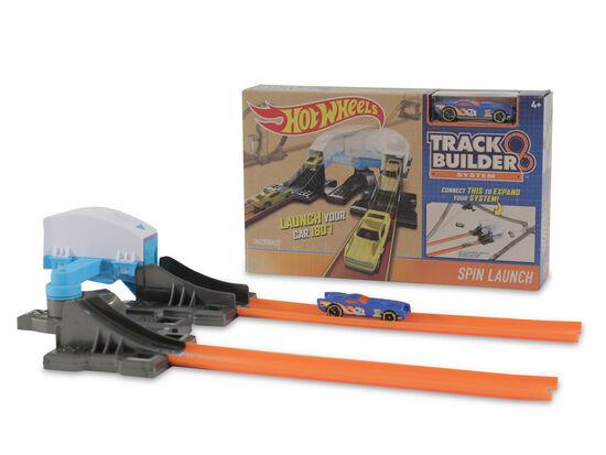 Mattel Hot Wheels Spin Launch Track Builder