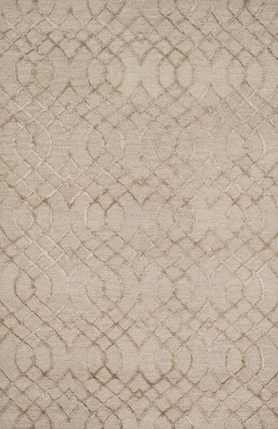 "Transitional 2'-3""x3'-9"" Rug in Taupe"