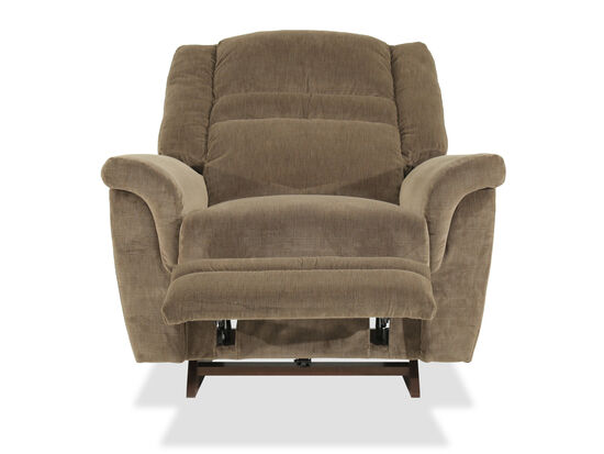 Pull Handle Casual 45'' Recliner in Honey