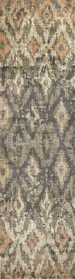 Transitional Power-Loomed 2.6 x 8 Runner Rug in Brown