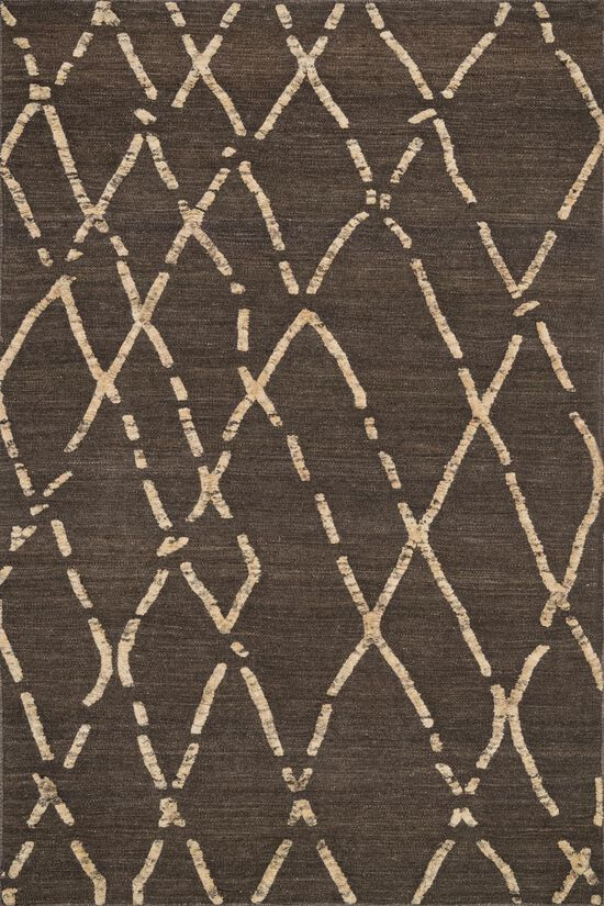 """Transitional 5'-0""""x7'-6"""" Rug in Turkish Coffee"""