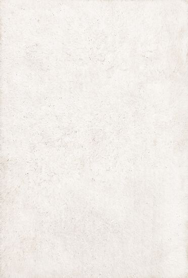 """Shags 2'-3""""x3'-9"""" Rug in Ivory"""