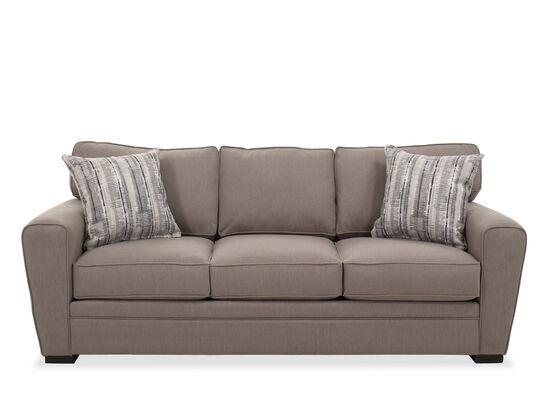 """87"""" Casual Queen Sleeper Sofa in Barley"""