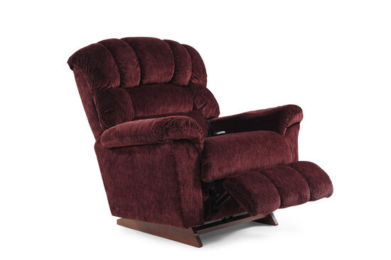 "PowerReclineXR 46"" Power Recliner in Burgundy"