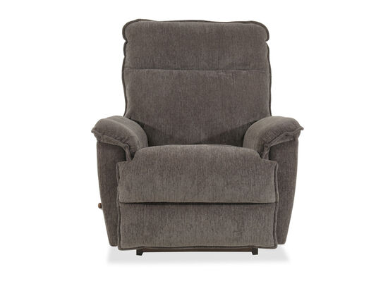 "Pillow Top Arm Casual 39"" Rocker Recliner in Gray"