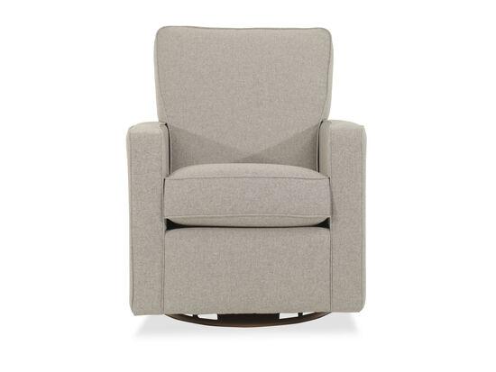 Swivel Glider Chair in Dove